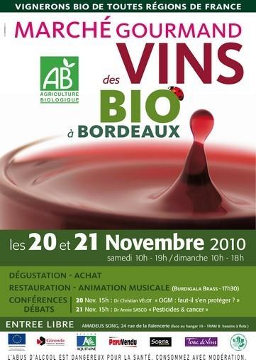 Marché des vins bio de Bordeaux - 2010