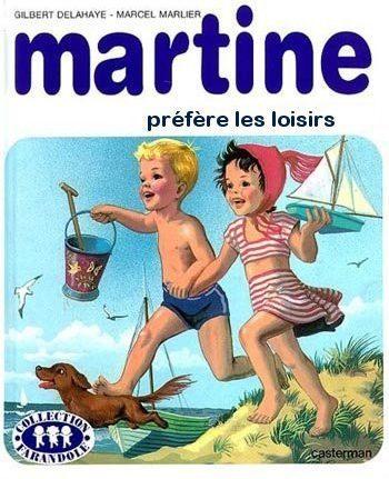 Martine préfère les loisirs