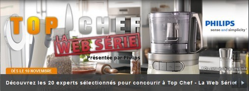 Top chef - la web série