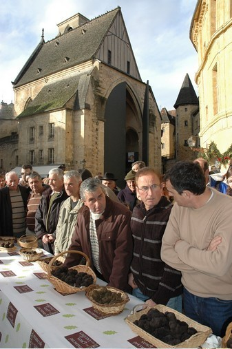 Marché de la truffe - Sarlat