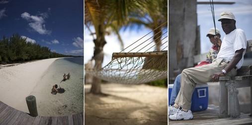 Bahamas - Montage photo vue mer et plage