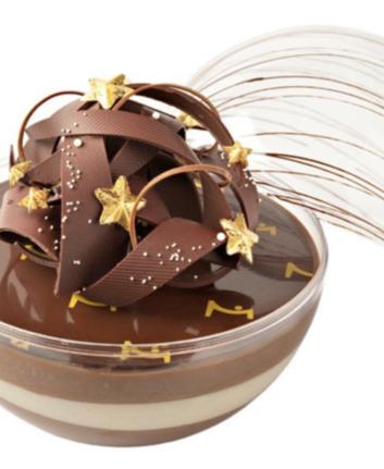 Bûche sphérique de Noël - La maison du chocolat