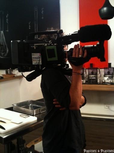 Caméra - Tournage Top chef