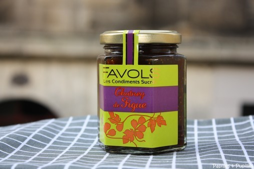 Chutney de figues Favols