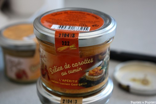 Délices de carottes au cumin Lucien Georgelin