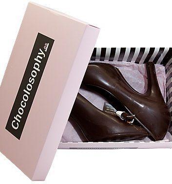 Escarpins en chocolat