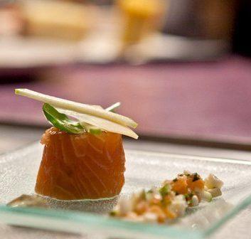 Maki de saumon au Comté