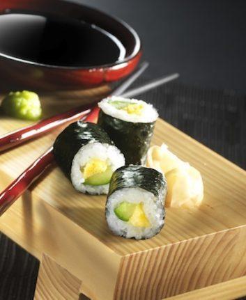 Makis au tamagoyaki