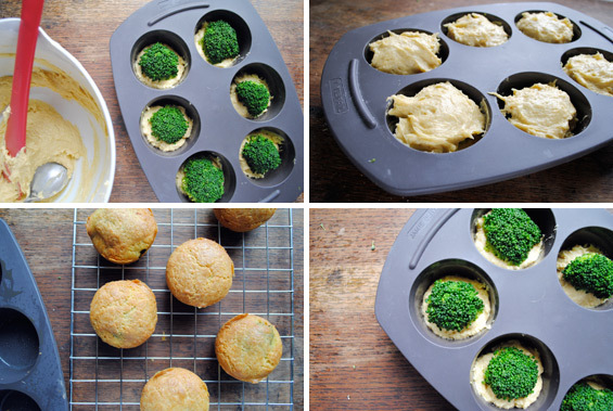 On remplit le moule à muffins ©Kitchenist