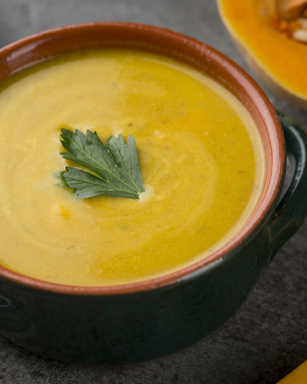 Soupe potimarron châtaignes