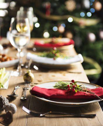Table de Noël ©Rawpixel.com shutterstock