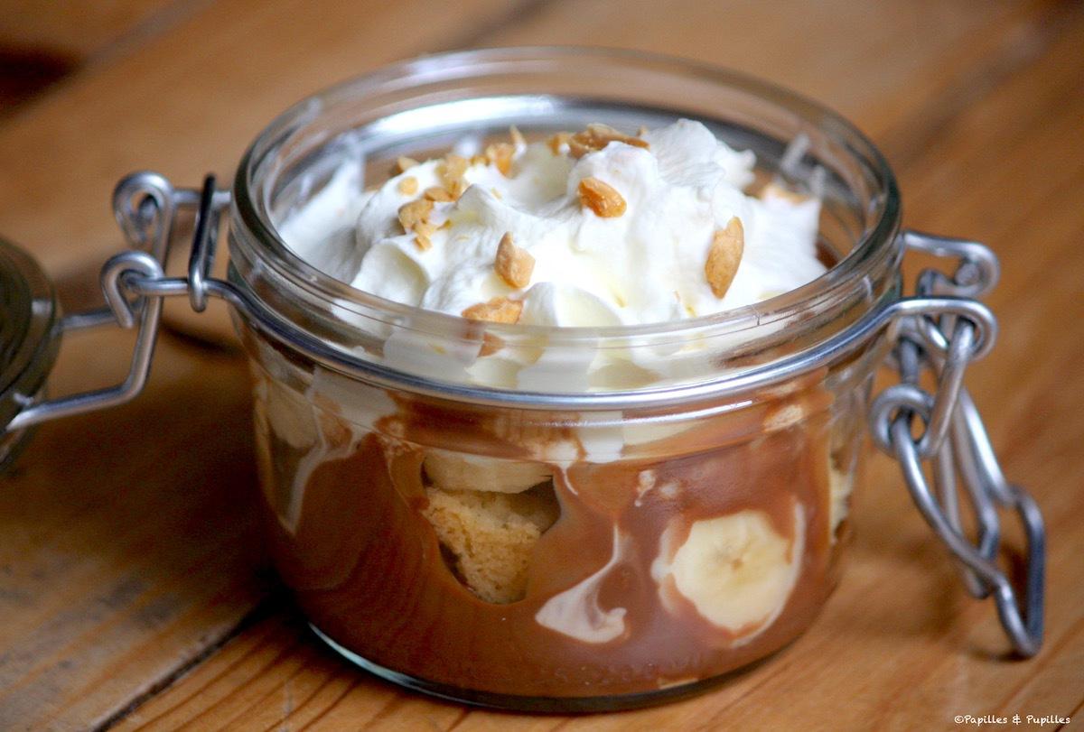 Trifle banane chocolat caramel