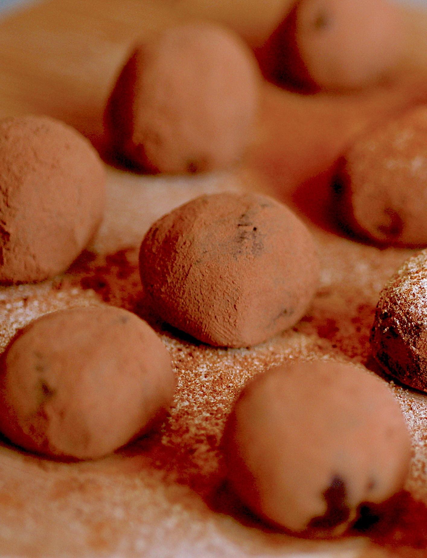 Truffes au chocolat ©Jacqueline CC BY-NC 2.0o