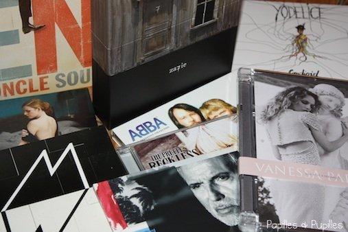 Pochettes d'albums