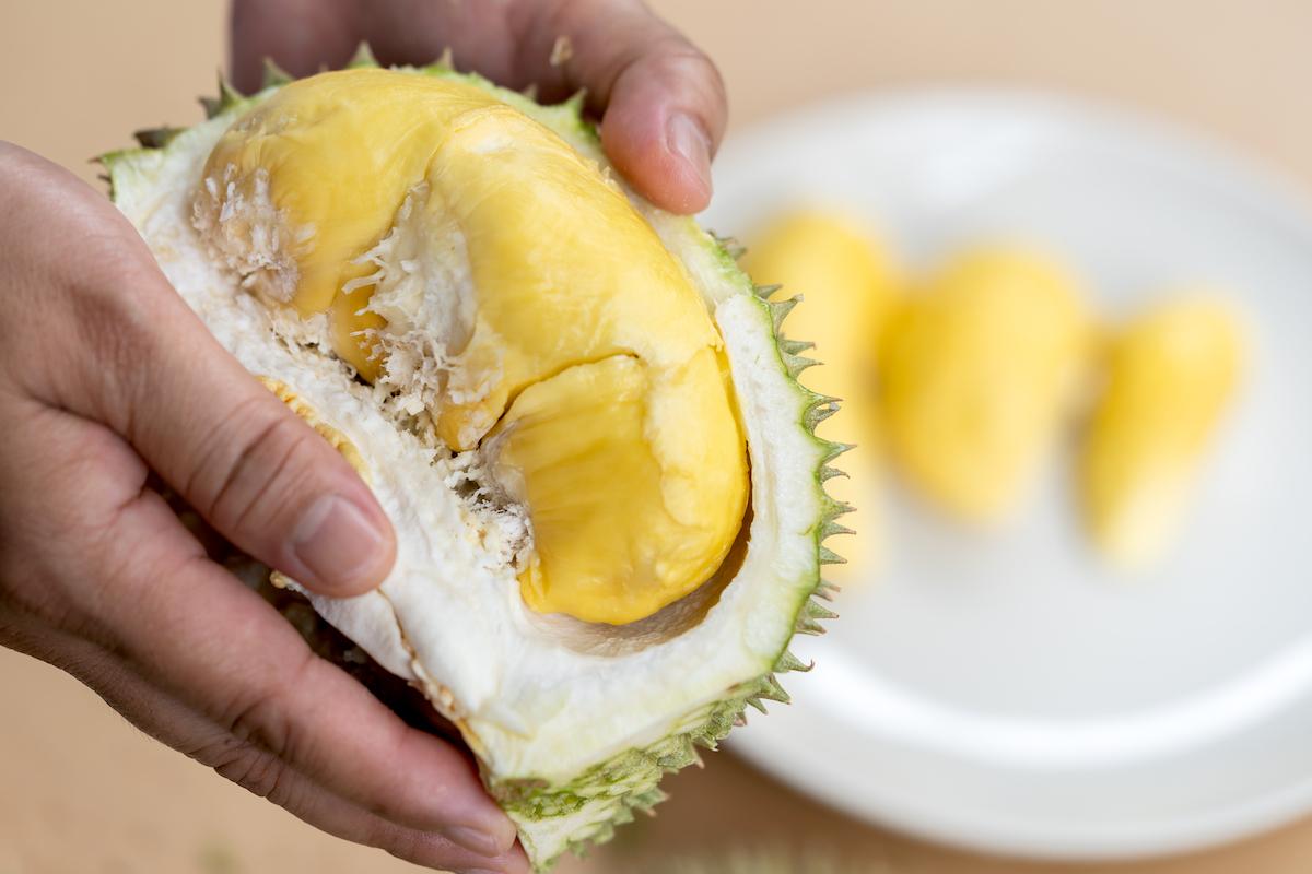 A l'intérieur du durian ©Thassin shutterstock