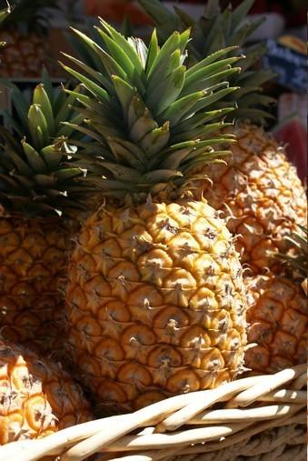 R gime wok d ananas sucr sal pour colette for Regime ananas