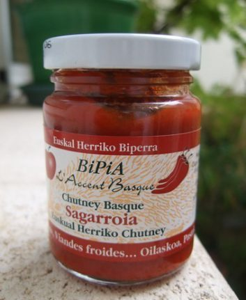Chutney basque
