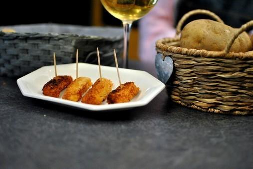 Croquettes de pommes de terre au foie gras de David Martin - petit