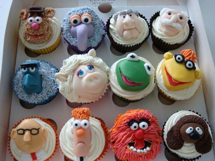 Cupcakes Muppet Show ©Caroline