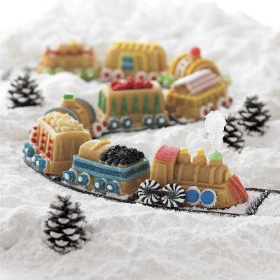 Christmas Train Cake Pan