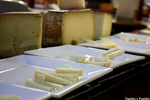 Dégustation de fromage Ossau Iraty