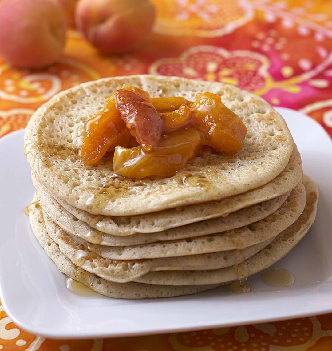 Pancake à l'épeautre et aux abricots (c) ML Tombini