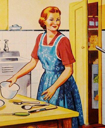 Préparation du dîner - Vintage ©ArtsyBee