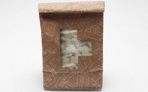 Paquet de sucres Tetris