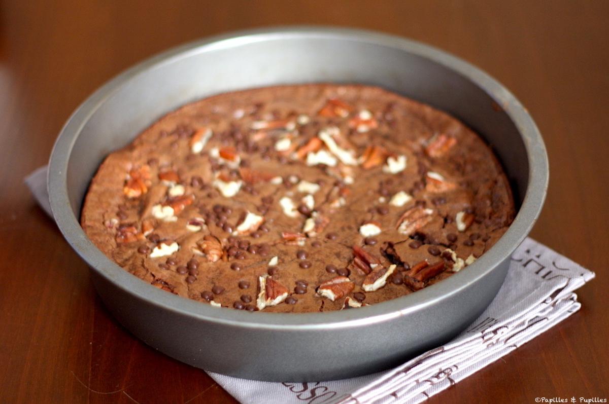 Brownie au chocolat et noix de pécan