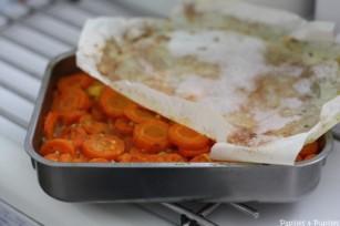Carottes au zeste d orange à l'ail et au persil
