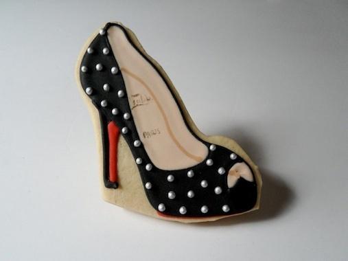 Cookie Escarpin noir Louboutin