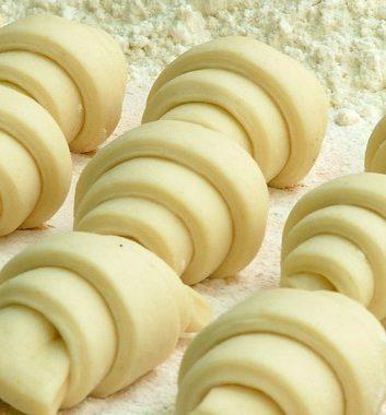 Croissants avant cuisson