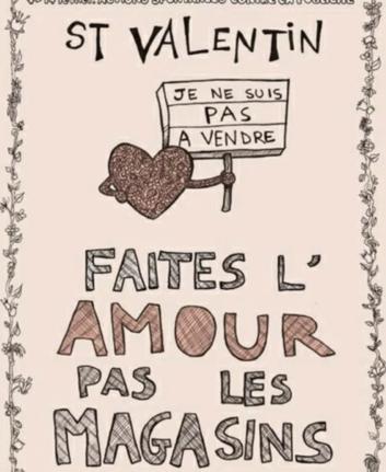 Faites l'amour, pas les magasins