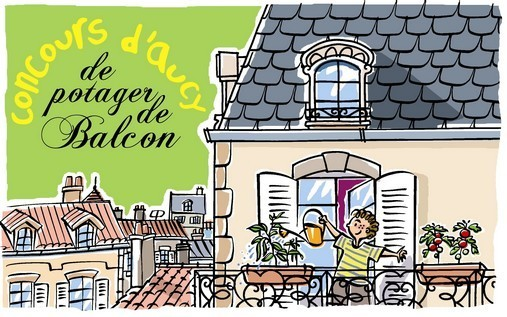 Illustration Potager De Balcon
