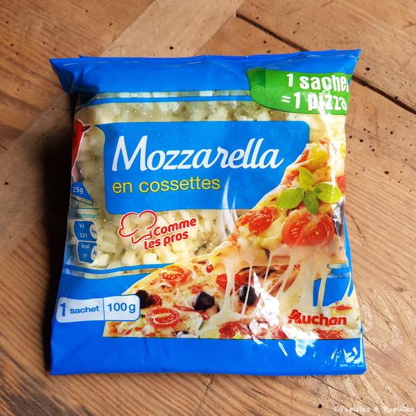 Mozzarella en cossettes