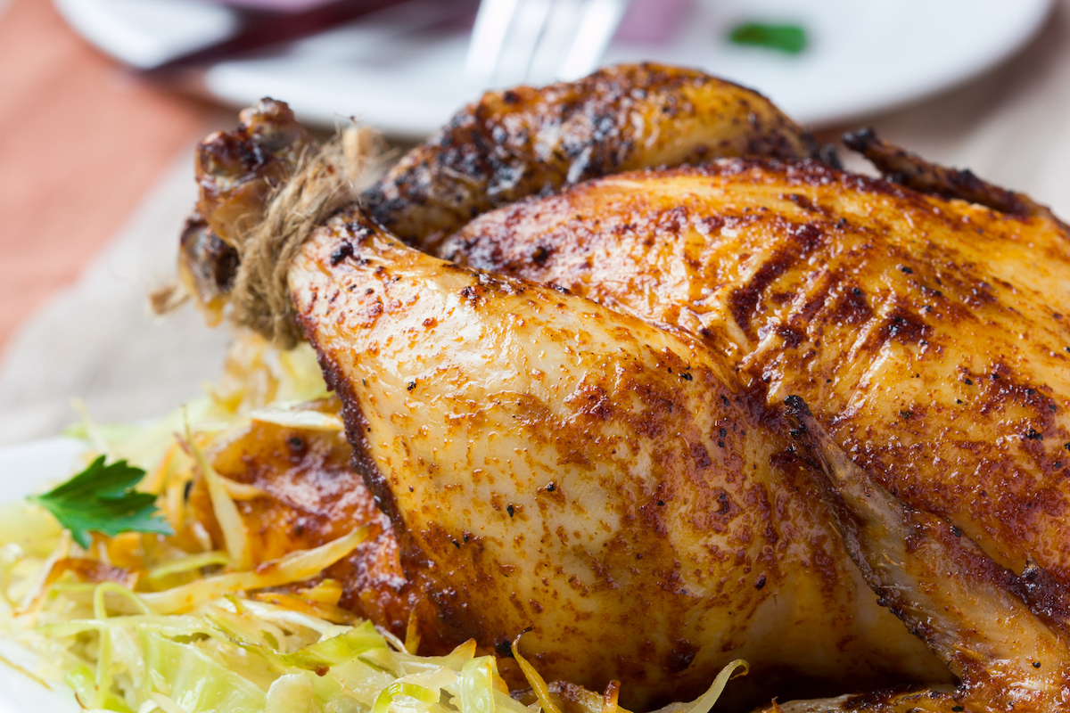 Poulet farci ©Lapina Maria. shutterstock