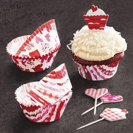 Set à cupcakes pour la Saint valentin