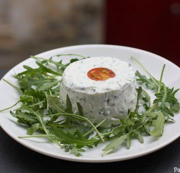 Terrine de fromage frais aux herbes