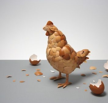 L'oeuf ou la poule telle est la question