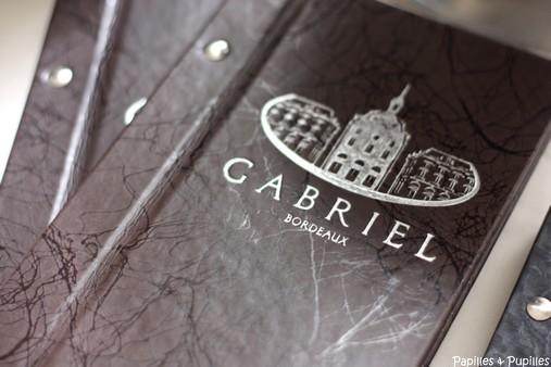 Menus Le Gabriel