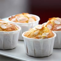 Muffins abricots amandes