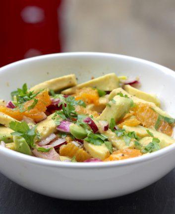 Salade d'avocat aux agrumes