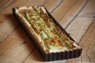 Tarte aux asperges et au Parmesan - ©Anne Lataillade