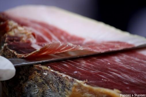 Jambon cru - Porc noir de Bigorre