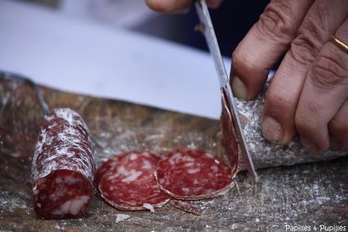 Saucisse sèche de Porc noir de Bigorre