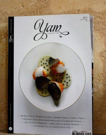 Yam - Yannick Alleno Magazine