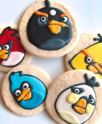 Cookies angry birds