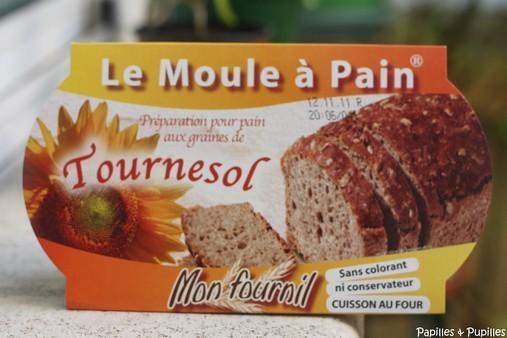Le moule à pain - Tournesol