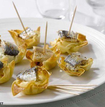 Croustillants de sardine en rémoulade