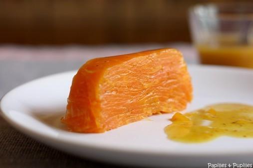 Terrine de carottes à l'orange et au cumin